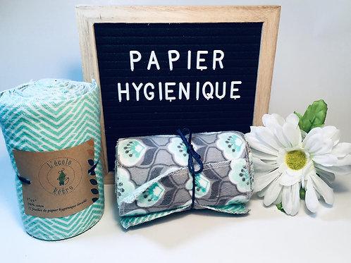 papier hygiénique lavable  , papier toilette , zéro déchet