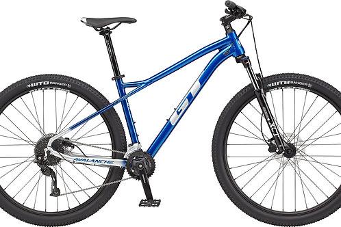 GT Avalanche Sport Blue Hardtail Mountain Bike 2021