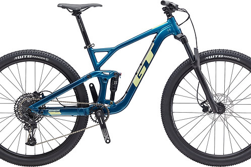 GT Sensor Al Sport Deep Teal Full Suspension Mountain Bike 2020