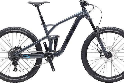 GT Force Al Comp Satin Gunmetal 27.5 Full Suspension Mountain Bike 2020