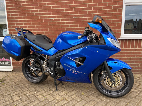 Triumph Sprint ST 1050 Blue 2005