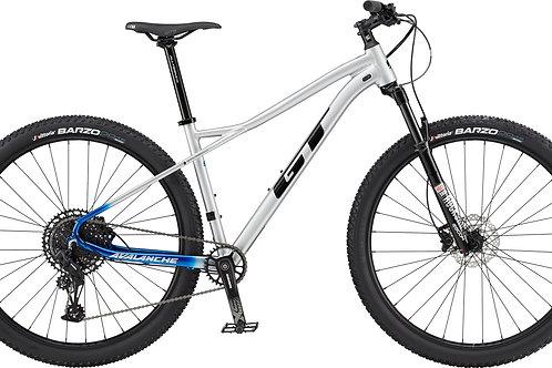 GT Avalanche Expert Silver Hardtail Mountain Bike 2020