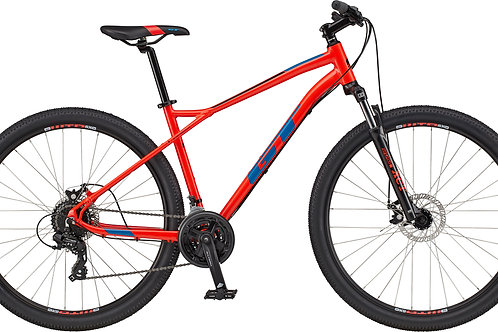 GT Aggressor Comp Red Hardtail Mountain Bike 2020