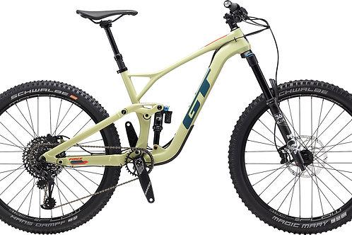 GT Force Carbon Expert Moss Green 27.5 Full Suspension Mountain Bike 2020