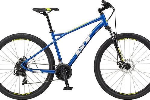 GT Aggressor Sport Blue Hardtail Mountain Bike 2021