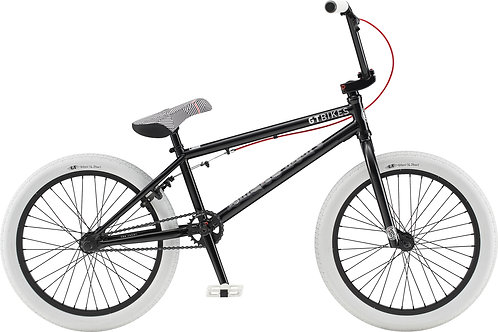 GT Performer Satin Black BMX Bike 2020