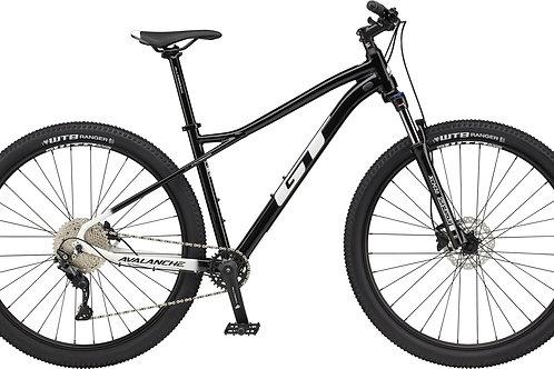 GT Avalanche Comp Black Hardtail Mountain Bike 2021