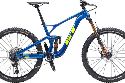 GT Force Carbon Pro Cyan 27.5 Full Suspension Mountain Bike 2020
