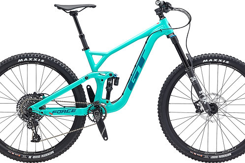 GT Force 29 Al Expert Pitch Green Full Suspension Mountain Bike 2020