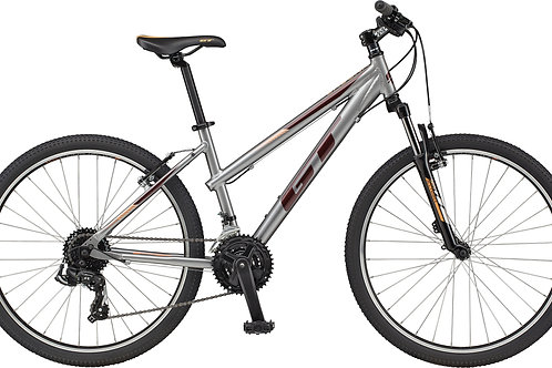 GT Laguna Ladies Silver Hardtail Mountain Bike 2021