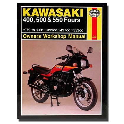 Haynes Manual Kawasaki 400,500 & 550 Fours 910