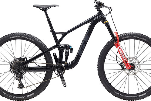 GT Force 29 Al Elite Black Full Suspension Mountain Bike 2020