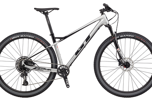 GT Zaskar Carbon Elite Silver 2020 Hardtail Mountain Bike