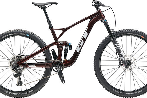 GT Sensor Carbon Pro Red Full Suspension Mountain Bike 2020