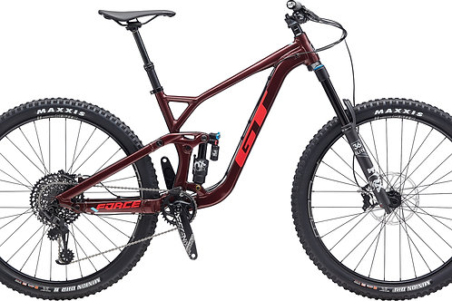 GT Force 29 Al Pro Burgundy Full Suspension mountain Bike 2020