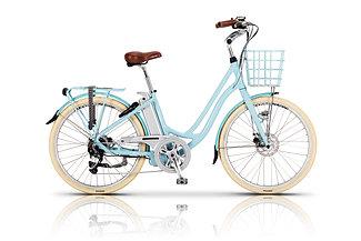 Volt Kensington Step Through Electric Bike Blue