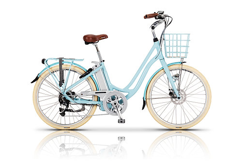Volt Kensington Step Through Electric Bike Blue