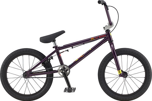 "GT Performer Jr Purple 18"" BMX Bike 2020"