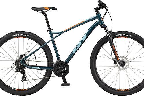 GT Aggressor Expert Slate Grey Hardtail Mountain Bike 2021