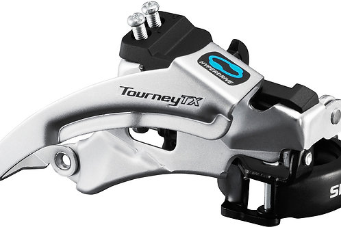 Shimano Front Derailleur Tourney top swing, dual pull, for 42/48T FD-TX800