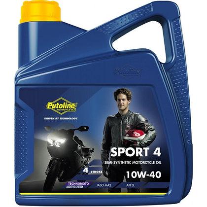 Putoline Sport 4 Semi Synthetic 4 Stroke Engine Oil 4L