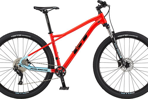 GT Avalanche Comp Red Hardtail Mountain Bike 2020