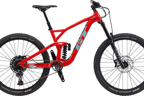 GT Force Al Elite Red 27.5 Full Suspension Mountain Bike 2020