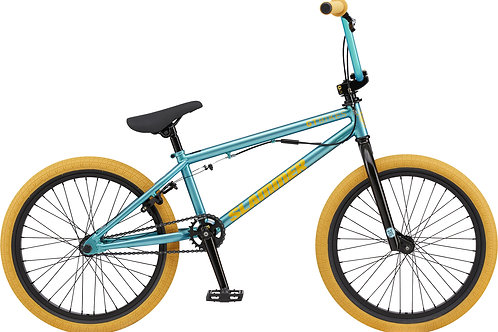 GT Slammer Translucent Mint BMX Bike 2020