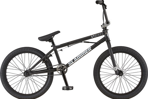 GT Slammer Satin Black BMX Bike 2020