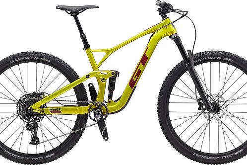 GT Sensor Carbon Elite Lime Gold Full Suspension Mountain Bike 2020