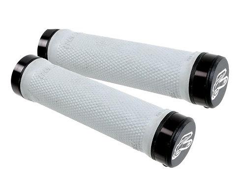 Renthal Lockon Grip Soft Compound Light Grey