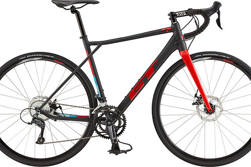 GT GTR Comp Satin Black Road Bike 2020