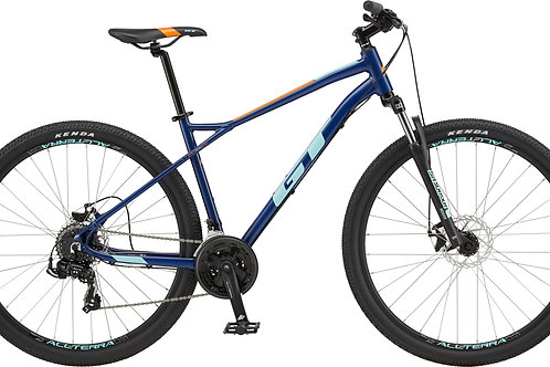GT Aggressor Sport Midnight Blue Hardtail Mountain Bike 2020