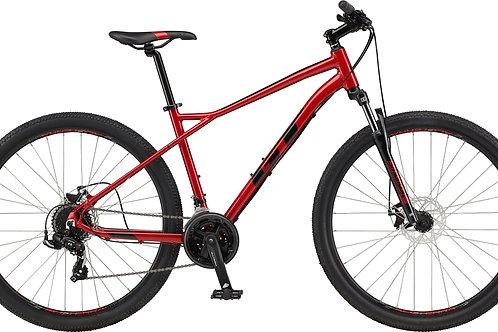 GT Aggressor Sport Red Hardtail Mountain Bike 2021