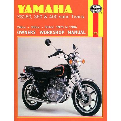 Haynes Manual Yamaha XS250/369/400 Twins 378