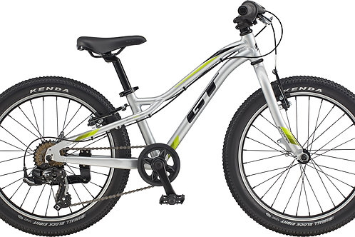 "GT Stomper Ace 20"" Wheel Silver Mountain Bike 2020"