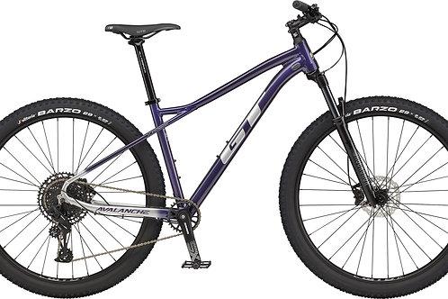 GT Avalanche Expert Purple Hardtail Mountain Bike 2021