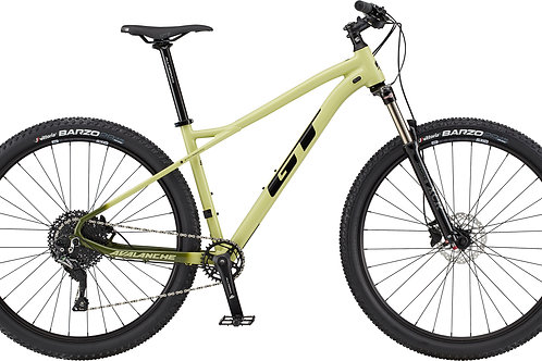 GT Avalanche Elite Moss Green Hardtail Mountain Bike 2020