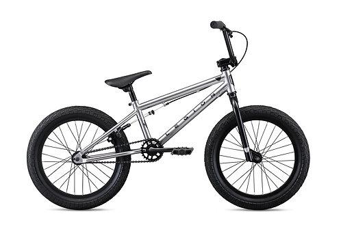 """Mongoose Legion L18 Silver 18"""" Wheel BMX Bike 2020"""