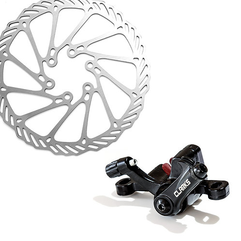 Clarks CMD-21 Disc Brake Set Front & Rear with Rotors