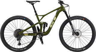 GT Sensor Carbon Expert Military Green Full Suspension Mountain Bike 2020