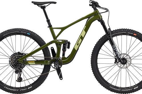 GT Sensor Carbon Expert Military Green Full Suspension Mountain Bike 2020