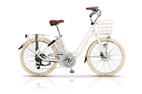 Volt Kensington Step Through Electric Bike Cream