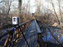 ponte legno parco ticino