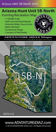 Arizona Hunt Unit 5B North Map www.adven