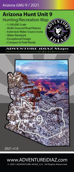 Arizona Hunt Unit 09 Map