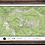 "Thumbnail: VAIL Colorado Topographic Keepsake Poster Map (24"" x 36"")"