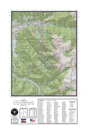 Colorado Ski Maps: Beaver Creek, Breckenridge, Keystone and Vail