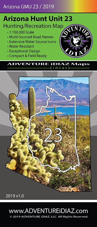 Arizona Hunt Unit 23 Map