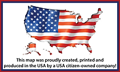 Made in the USA - Best Arizona Hunt Unit Maps, Flat Earth Maps and Keystone Ski Trail Maps Available.